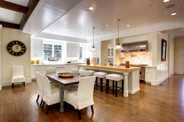Mandeville House traditional-kitchen