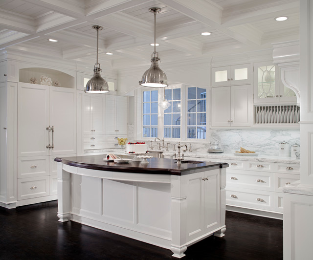 Manhattan Beach Cape Cod Traditional Kitchen Los Angeles By Model Design Inc