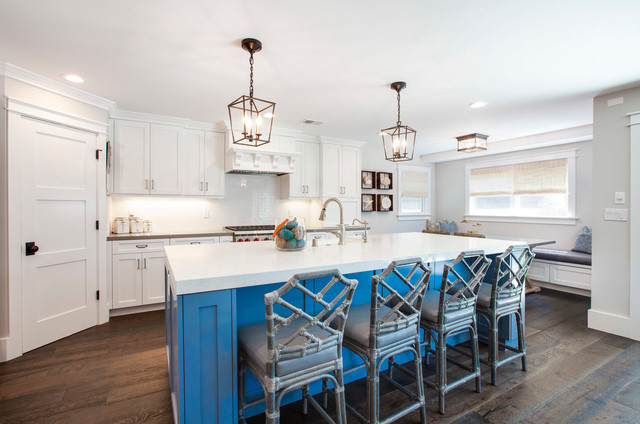 Manhattan Beach Interior Design Project In South Bay Home Magazinew Beach Style Kitchen By