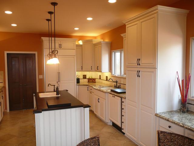 Manhattan beach kitchen traditional kitchen los angeles by spectrum west interior design - Manhattan kitchen design ...