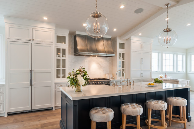 Manhattan Beach Modern Farmhouse Interesting Los Angeles Kitchen Remodeling Concept Property