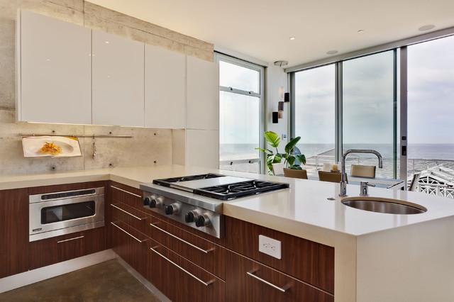 Manhattan Beach Ultra Modern Kitchen Remodel Modern