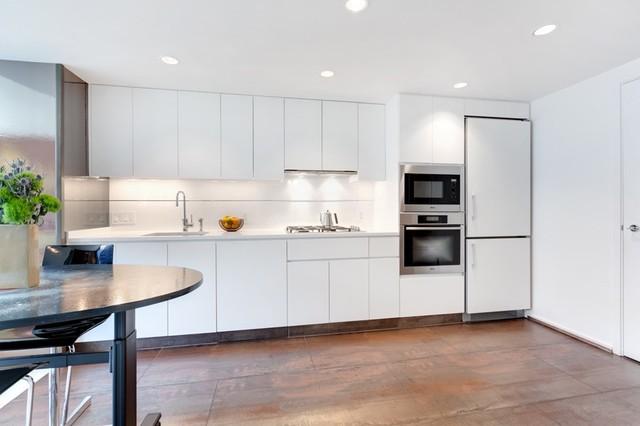 Manhattan condo modern kitchen dc metro by krewson design - Manhattan kitchen design ...