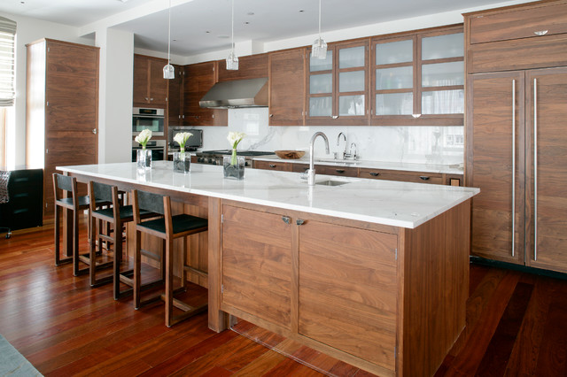 contemporary kitchen by Betty Wasserman