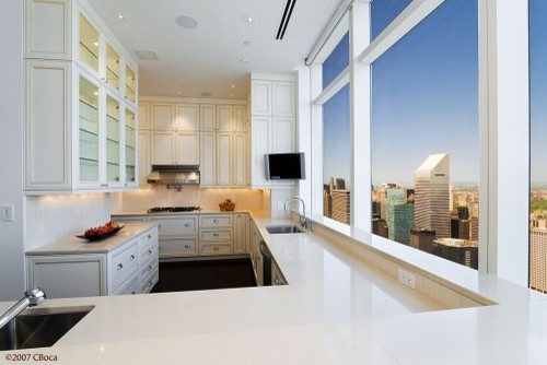 Manhattan Kitchen | Karen Chien Inc. contemporary-kitchen