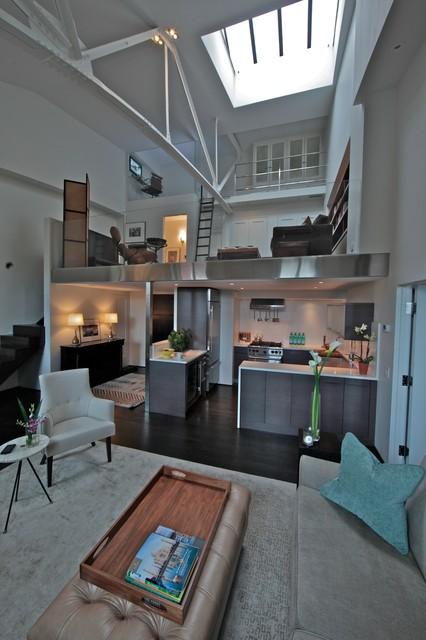 Manhattan Loft modern-kitchen