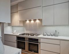 Manhattan Loft contemporary-kitchen
