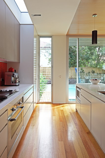 Manly House contemporary-kitchen