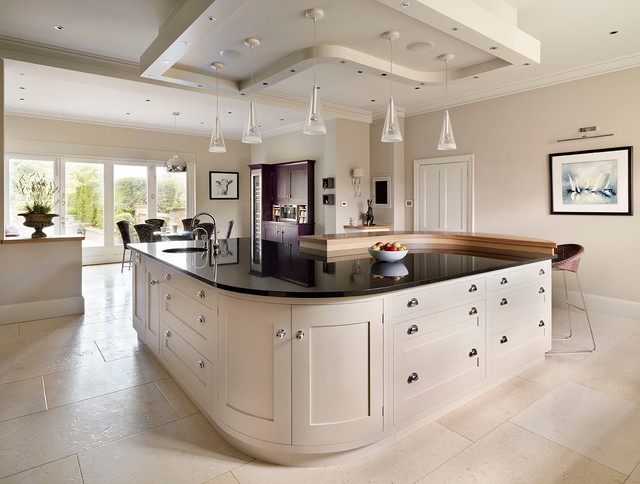Manor in the Weald - Contemporary - Kitchen - other metro ...