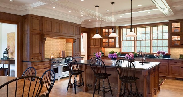 Mansion Traditional Kitchen Boston By Design Resource