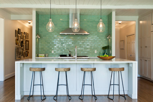 Waterfall Edges For Kitchen Countertops And Islands