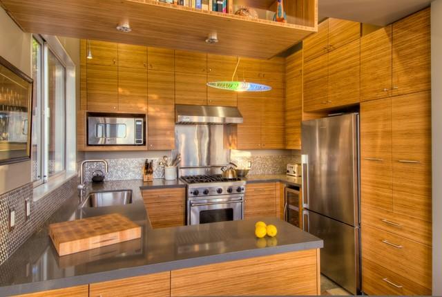 Manzanita avenue oakland contemporary kitchen san for Oakland kitchen design