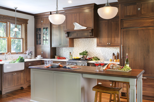 Maple Cabinetry - Contemporary/Farmhouse Style - Rustic - Kitchen - Huntington - by Mountaineer ...