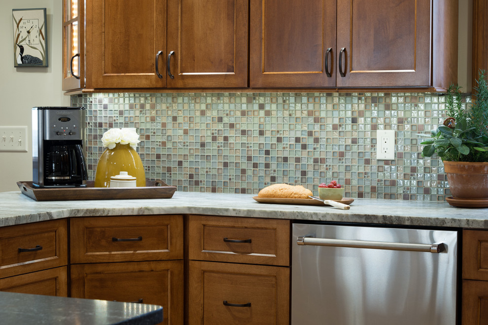 Maple cabinets with ginger stain - Traditional - Kitchen ...