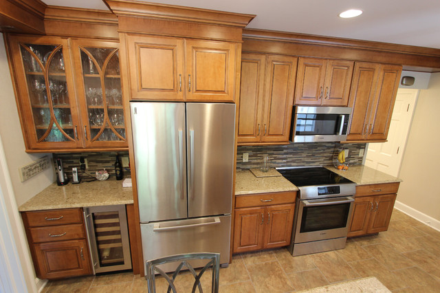 Maple Cabinets with Granite Countertop ~ Shaker Heights, OH #1 ...