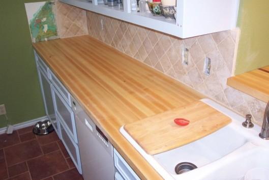 Maple edge grain butcher block Counter Tops