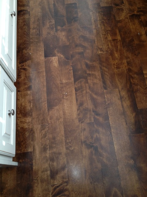 Maple Hardwood Floors Transitional Kitchen Salt Lake