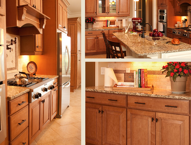 Maple Kitchen Cabinets | Carlton Door Style | CliqStudios - Traditional - Kitchen - minneapolis ...