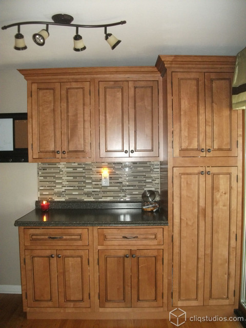 Kitchen Cabinets New York : Maple Kitchen Cabinets - Traditional - Kitchen - New York - by ...