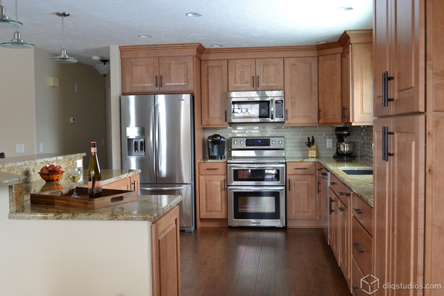 Maple Kitchen Cabinets Traditional