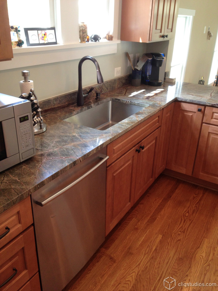 Maple Kitchen Cabinets - Traditional - Kitchen - DC Metro ...