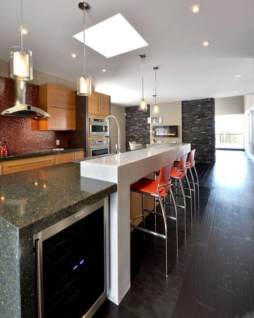 Maple Leaf Design contemporary-kitchen