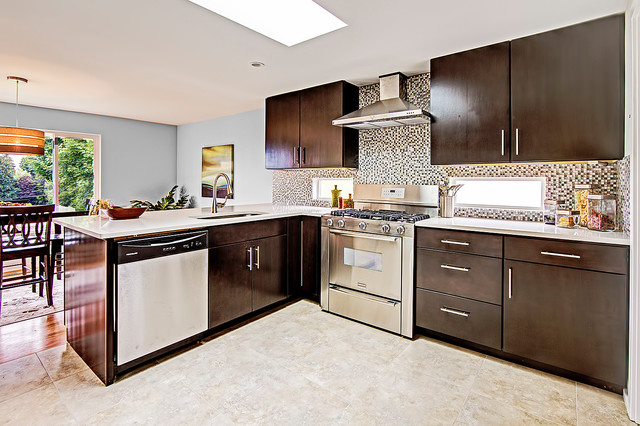 Maple Leaf Remodel contemporary-kitchen