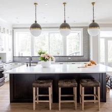 Maple Ridge Modern Country Home - Kitchen