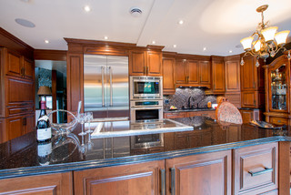 Mapple syrup traditional kitchen montreal by - Nouvelle cuisine montreal ...