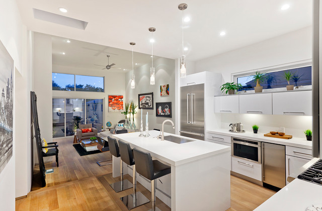 Maplewood Modern Kitchen Los Angeles By American