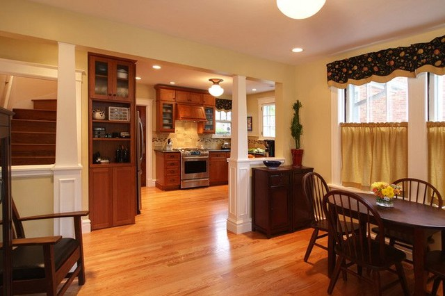 Maplewood, whole house makeover traditional-kitchen