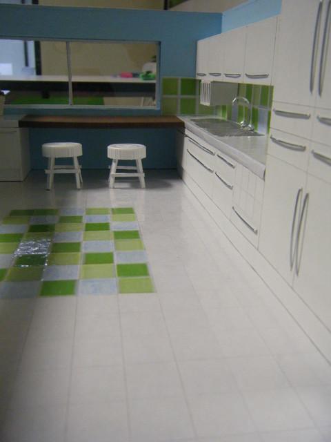 Maquetas contemporary-kitchen