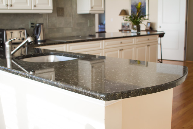 Marble and Granite Countertop and Vanities traditional-kitchen