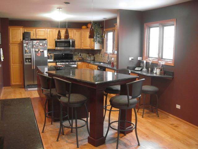 Marble and Granite Kitchen contemporary-kitchen