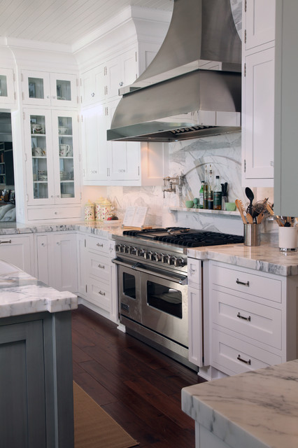 eclectic kitchen by Signature Woodworks