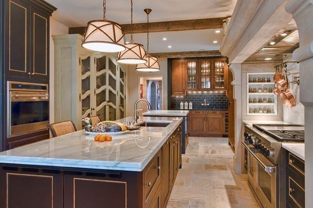 Marble Kitchen traditional-kitchen