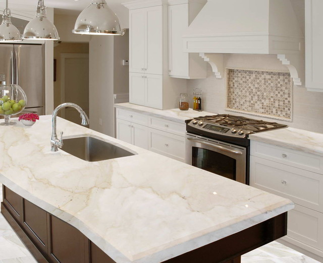 Marble - Kitchen - New Orleans - by The Stone Gallery