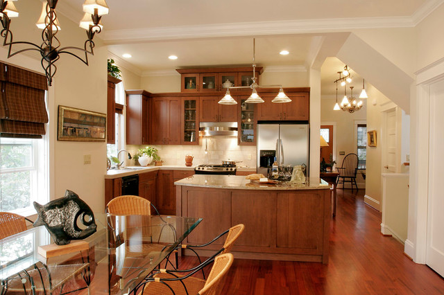 Marble whole house remodel traditional-kitchen