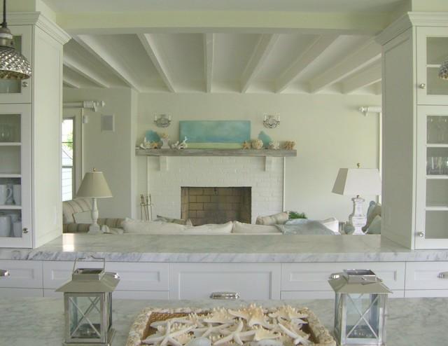 Marblehead Cottage beach-style-kitchen