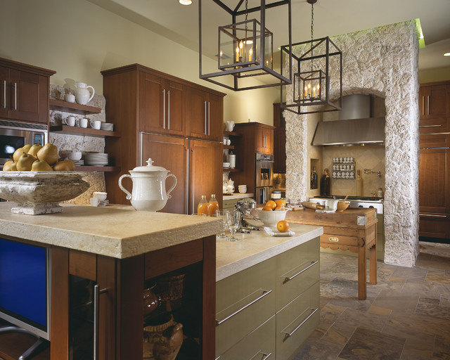 Marc-Michaels Interior Design eclectic-kitchen