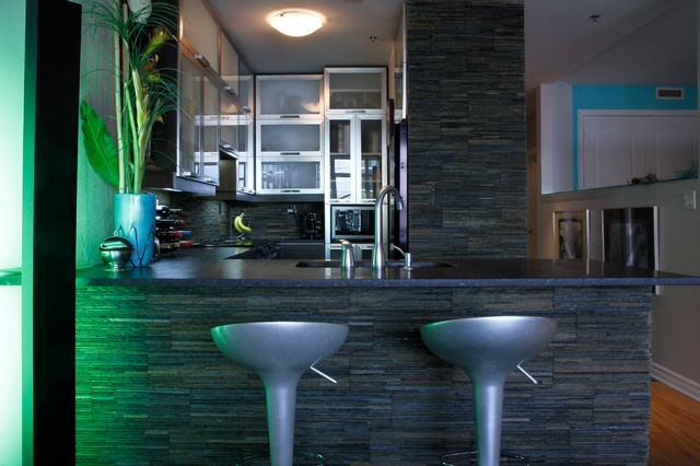 Marc: Montreal, QC contemporary-kitchen
