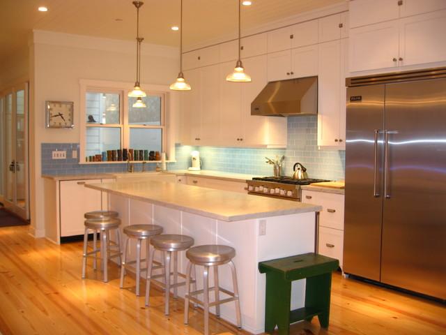 Marco - Modern Beach Craftsman, Seal Beach CA tropical-kitchen