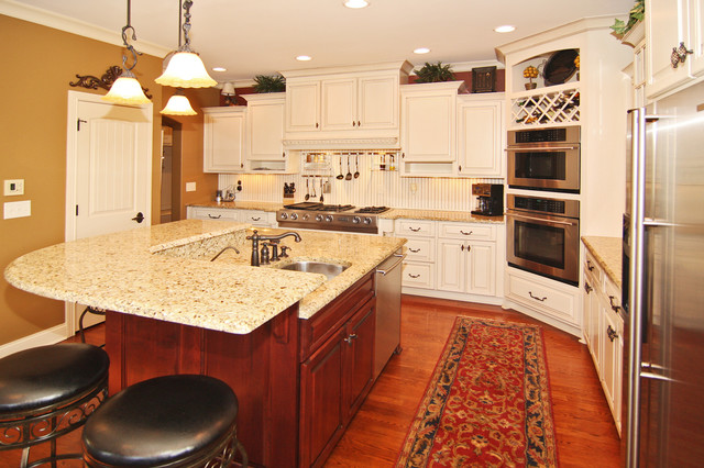 Marcy lewis havencrest homes traditional kitchen for Home designs by marcy