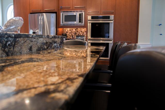 margate contemporary kitchen countertops and backsplash
