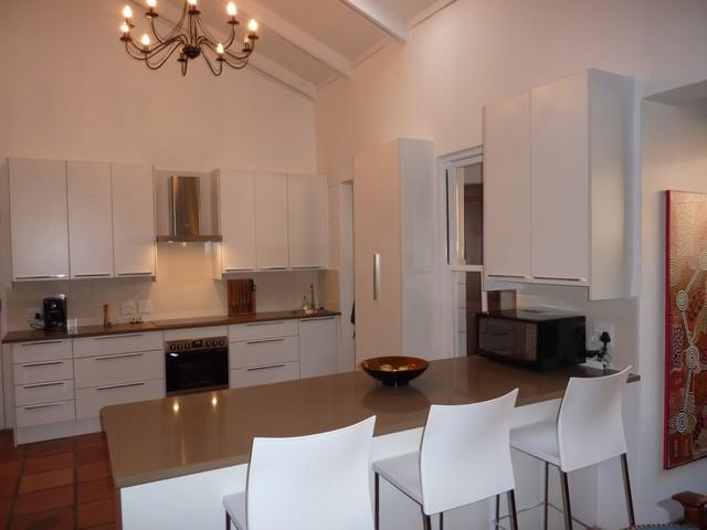 Margot Gold contemporary-kitchen