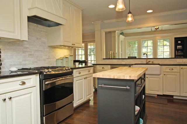 Marietta, GA Interior Renovation traditional-kitchen