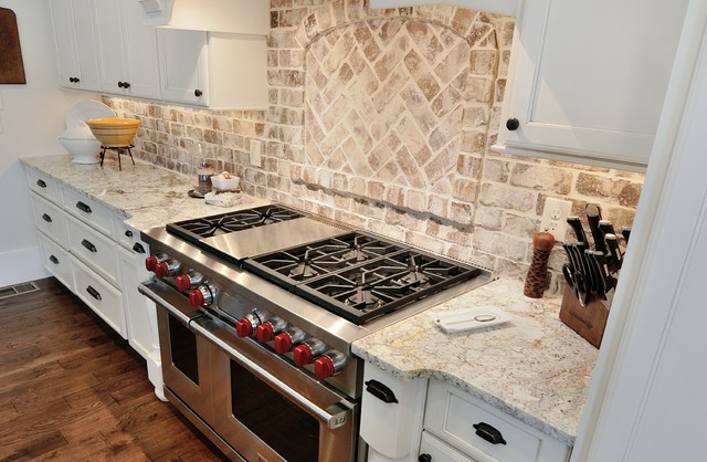 thin brick kitchen backsplash marietta home traditional kitchen atlanta by cr 6097