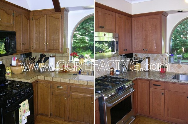 Marin Kitchen Reface - Modern - Kitchen - san francisco - by Custom Cabinet Refacing
