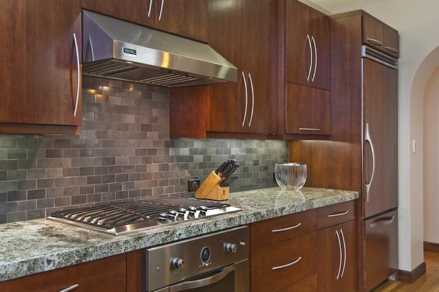 Marina District Flats transitional-kitchen