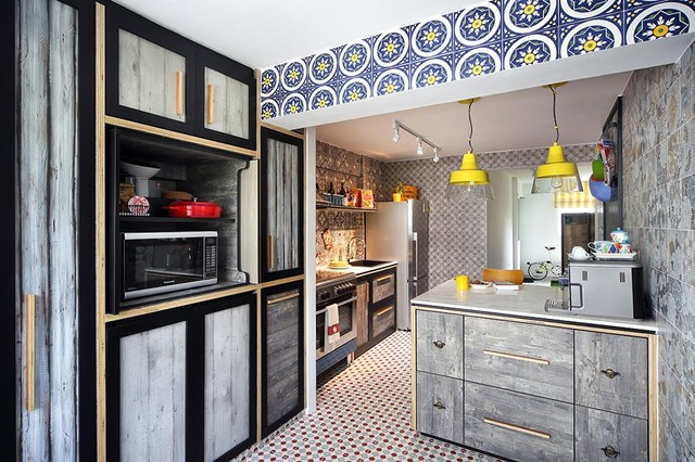 kitchen tour this hdb cookspace is colourful cosy and quirky rh houzz com sg